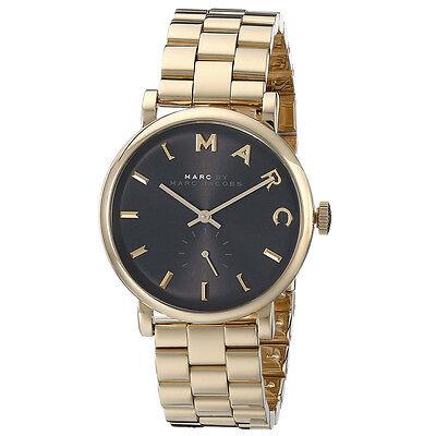 Marc by Marc Jacobs Original MBM3355 Women's Baker Black Gold Steel Watch
