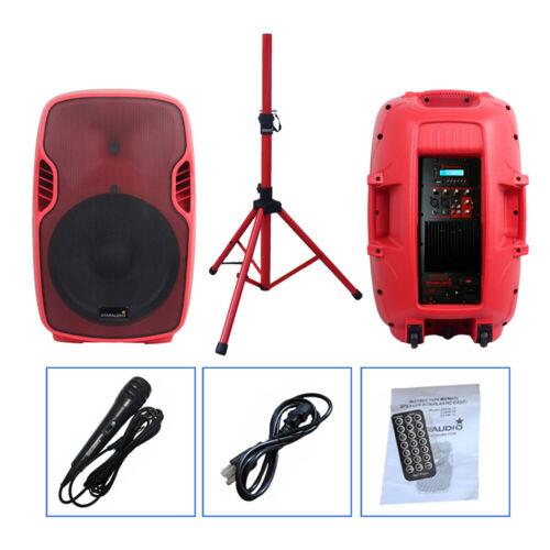 STARAUDIO 3500W 15 Inch DJ Powered KTV Active PA Speaker W/B
