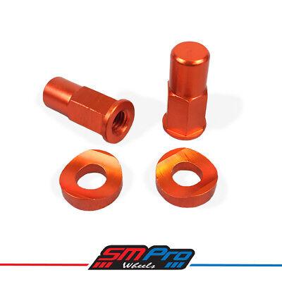 Security Bolt - Rim Lock Kit (Orange) Honda Yamaha Suzuki KTM Kawasaki SM Pro
