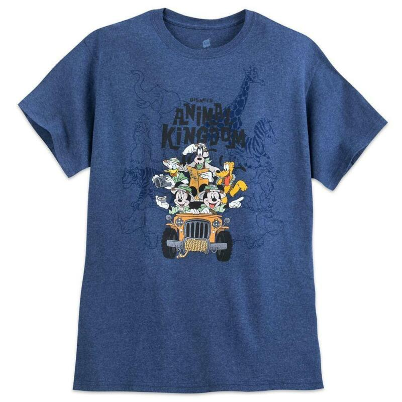 Mickey Mouse and Friends Safari T-Shirt for Adults – Disney