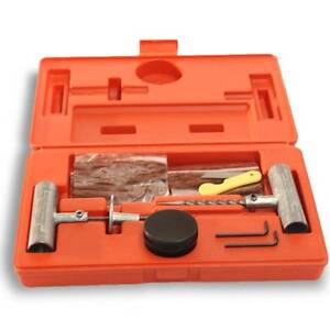 Heavy Duty Tyre Puncture Repair Plug Kit Valve Tool Car Truck 4X4 Moorabbin Kingston Area Preview