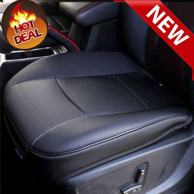 Used, 1Pc Black PU Leather 3D Full Surround Car Seat Protector Seat Cover Accessories for sale  China