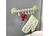Top Quality Supper Power Vaccum Sucker Stand Hook Kitchen Bathroom Hanger