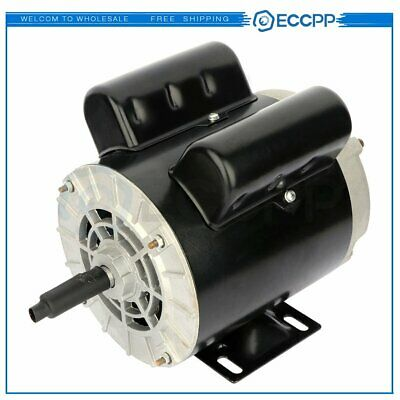 2 Hp Spl Air Compressor Duty Electric Motor 56 Frame 3450 Rpm Single Phase 60 Hz
