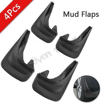 4x Universal rubber Car Mud Flaps splash guards Front Rear for Ford Fiesta Focus