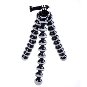 Flexible Gorilla Tripod for Camera DSLR Stand Large Octopus Legs + GoPro Mount