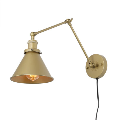 LNC Wall Lamp Adjustable Wall Sconces Plug-in Sconces Wall L