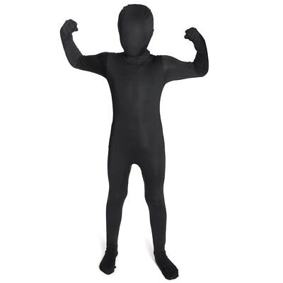 Black Original Kids Morphsuit Fancy Dress Child Costume