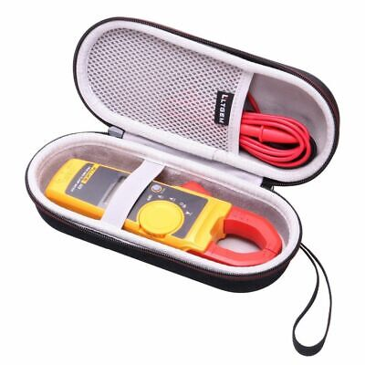 Hard Case For Fluke True Rms Clamp Meter Clamp Multimeter Trms Mesh Pocket Kit