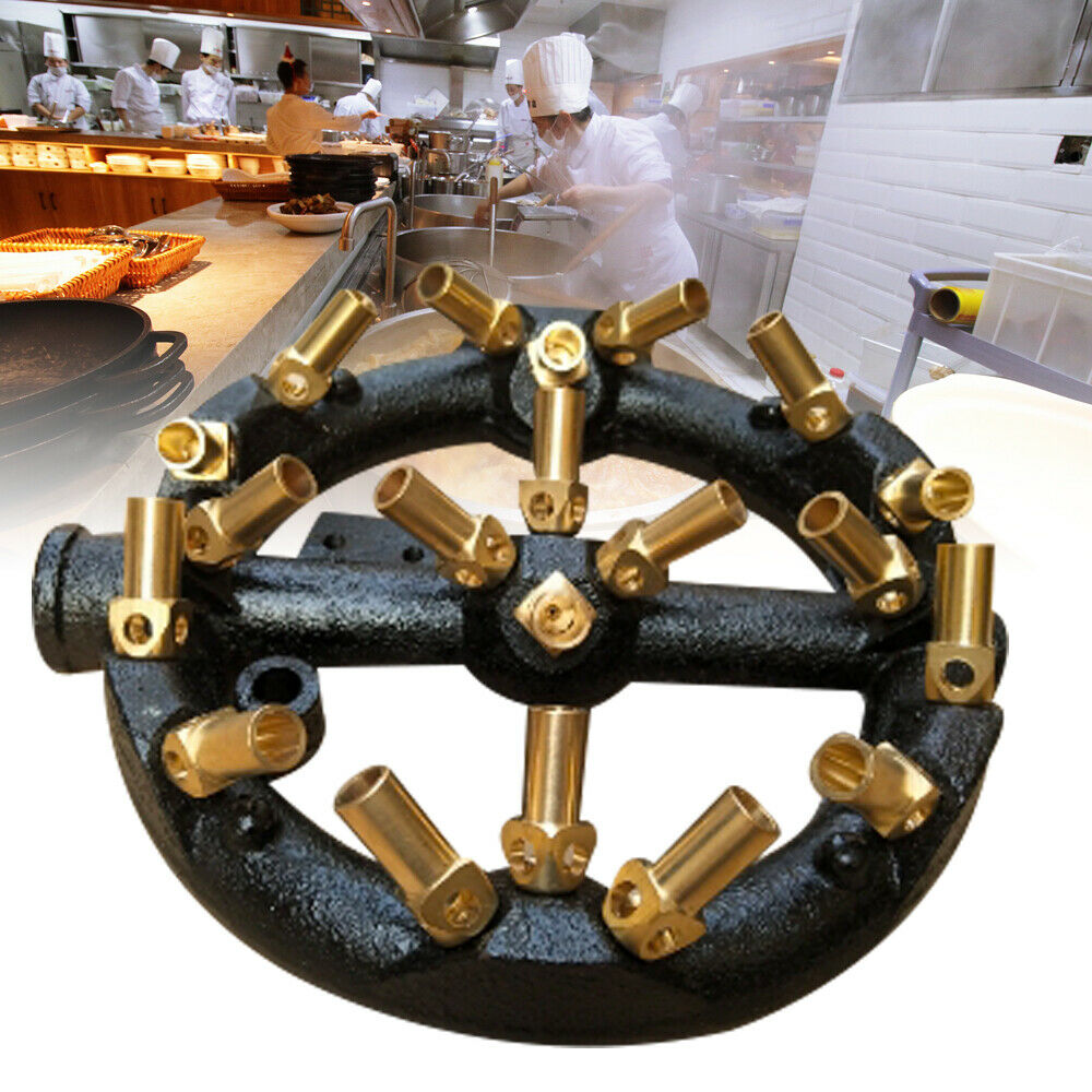 10//20//23//32 Tips Round Shape Jet Burner Natural Gas Jet Burner Wok Burner65 mm