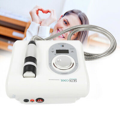 Cryo Cool Hot Electroporation No Needle Mesotherapy Facial Skin Lifting Machine