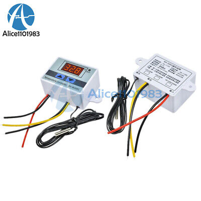 Digital Xh-w3001 Ac110-220v Led Temperature Controller Thermostat Control Switch