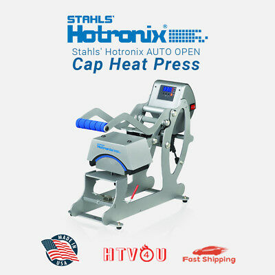 Stahls Hotronix Auto Cap Heat Press Stxc-120 3.5 X 6