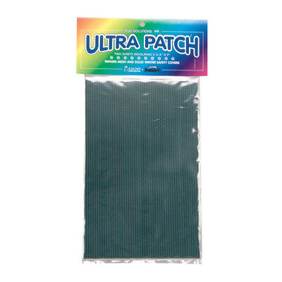 Ultra Patch Repair for Mesh & Solid Winter Safety Pool Covers- 2 Sheets BP2-12 Winter Pool Cover Patch