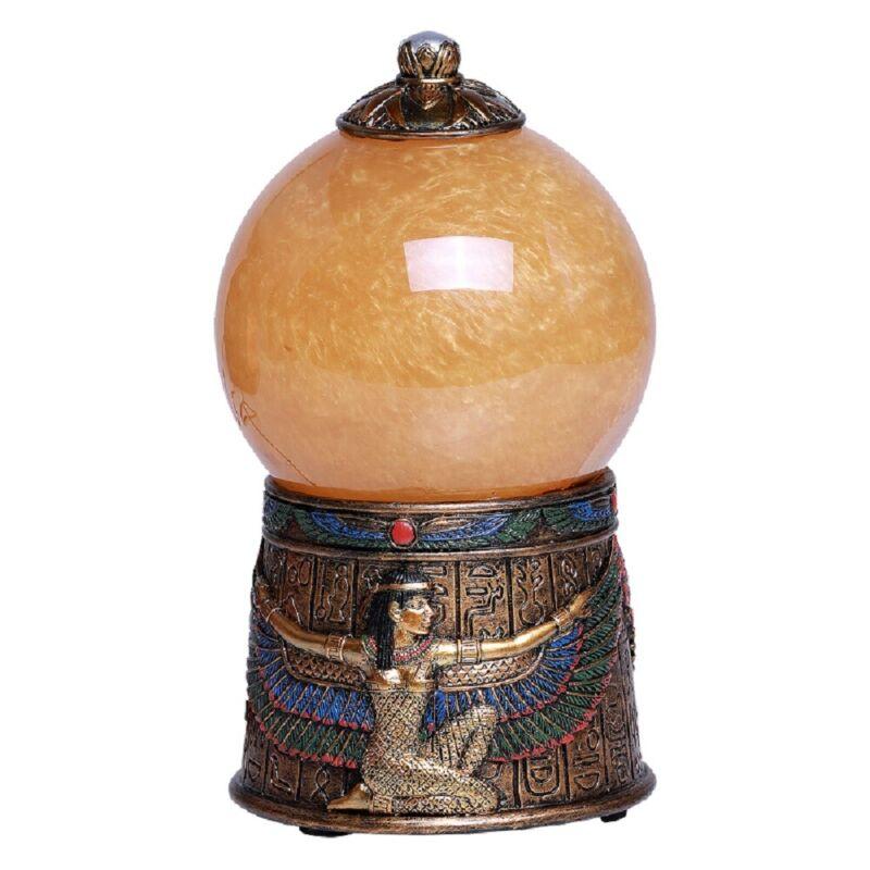 Egyptian Goddess Isis Sand Storm Ball Decoration New