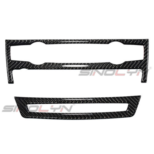 For BMW X5 X6 E70 E71 Parts Carbon Fiber Air Conditioner