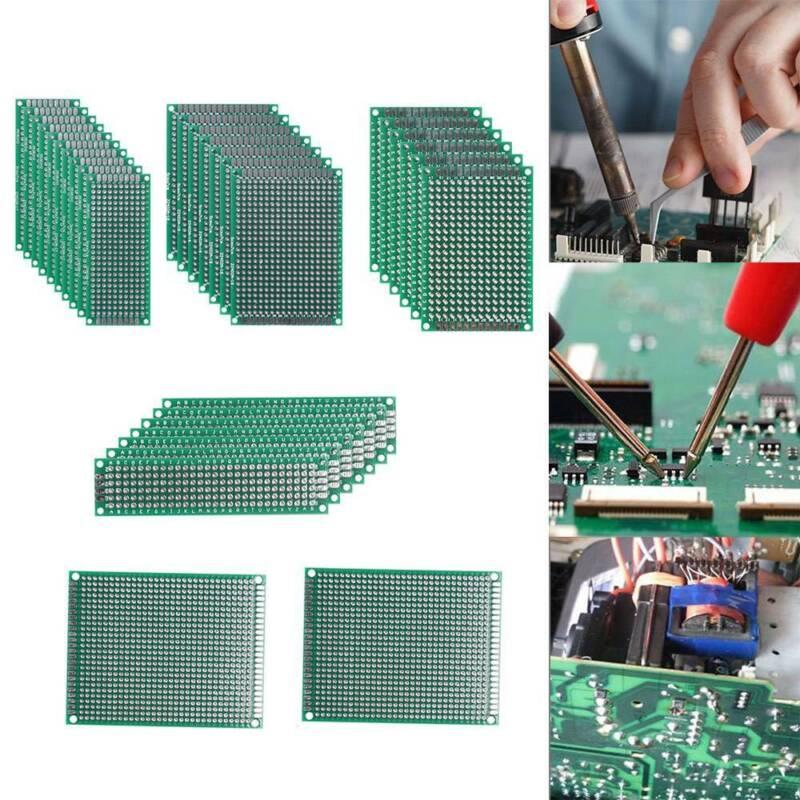 Kupfer-Platine Laminat 100 x 150mm 1,6mm Dicke Kupfer PCB Leiterplatte  10-tlg
