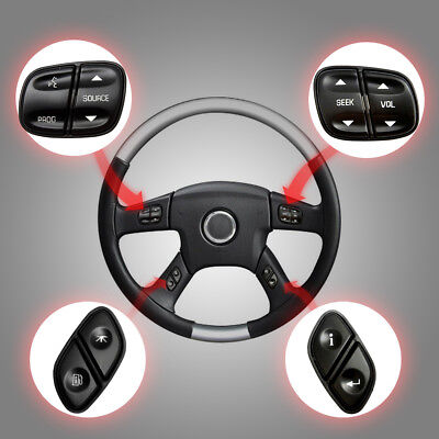 Steering Wheel Radio Volume Control Switch Set for GMC Chevrolet Yukon 21997738