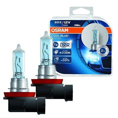 OSRAM 2-ER SET HALOGEN-LAMPE H11 COOL BLUE INTENSE 4000 K BIRNE  31539252