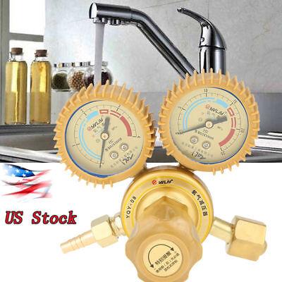 G58 34 Adjustable Brass Water Pressure Reducing Regulator Valves W Gauge Us