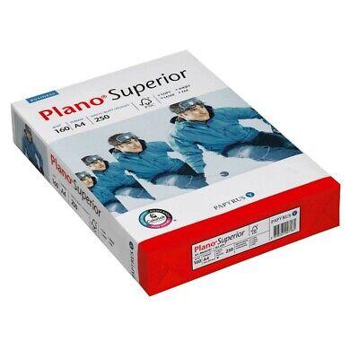 250 Blatt Plano Kopierpapier Superior A4 160 g/qm Kopier Papiere