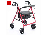 For sale 4-Wheel Rollator walker.
