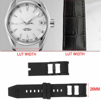 26mm RUBBER WATCH STRAP WRISTWATCH FOR INVICTA RUSSIAN DIVER 1201 1805 1845 1959