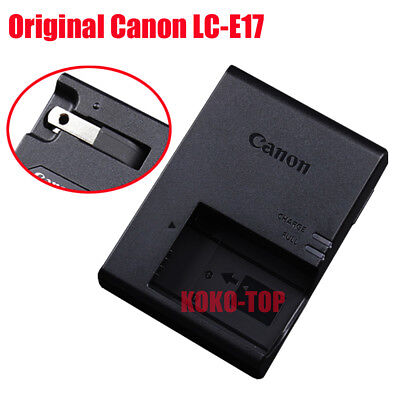 Genuine original Canon LC-E17 Charger For Canon EOS 750D 760D M3 LP-E17 Battery