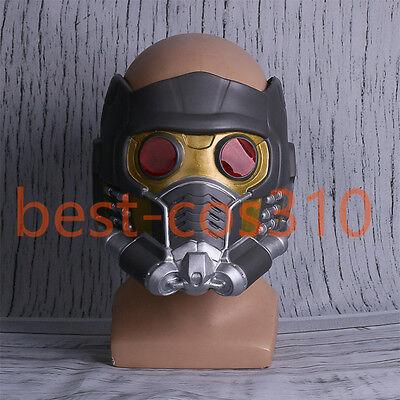 2017 Cosplay Guardians of the Galaxy Vol 2 Helmet Star Lord Helmet Latex Mask  - Halloween 2 Mask 2017