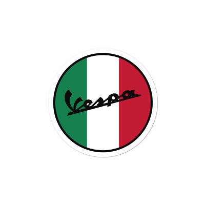 Vespa Logo Classic Vintage Scooter Motorcycle Stickers Decals