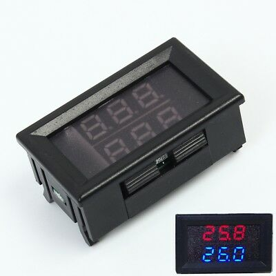 Dual Digital Led Display Thermometer K-type Thermocouple High Temperature Tester