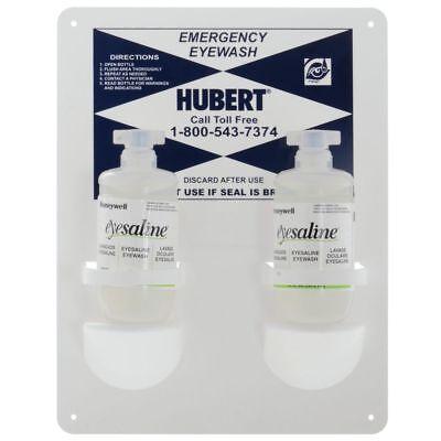 Hubert Emergency Eye-wash Station 2 16 Oz Bottles