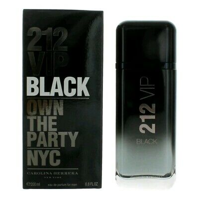 212 VIP Black by Carolina Herrera, 6.8 oz EDP Spray for Men