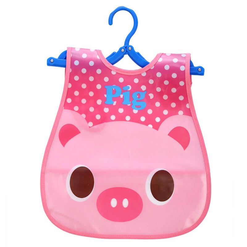 Newborn Cute Kids Bibs Baby Soft Cartoon Bib Toddler Waterproof Saliva Dripping C