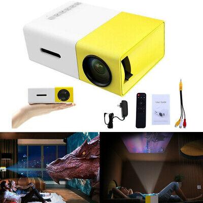 Portable Mini Projector YG300 3D HD LED Home Theater Cinema 1080P AV USB HDMI