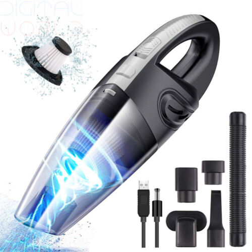 Details about URAQT Handheld Vacuum Cleaner Cordless, Powerful Lightweight Cyclonic