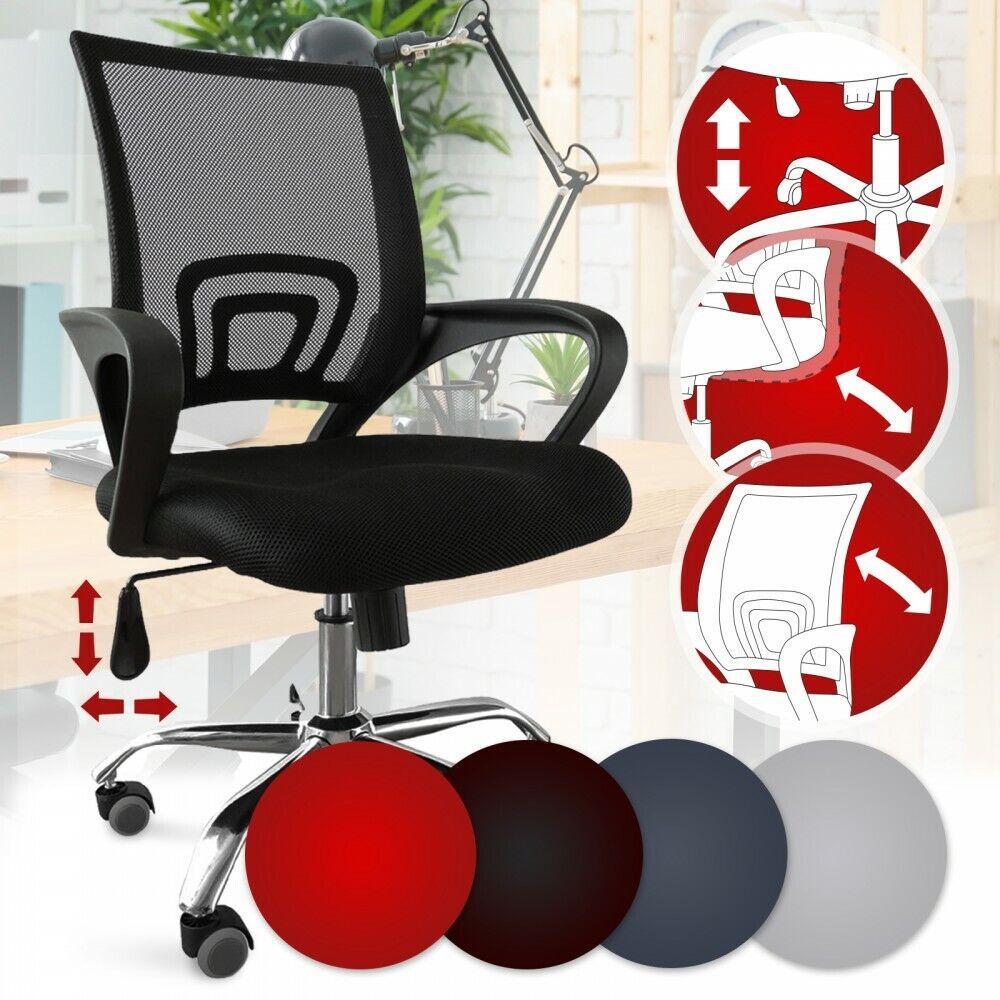 Bürostuhl Drehstuhl Schreibtischstuhl Chefsessel Computerstuhl ergonomisch Mesh