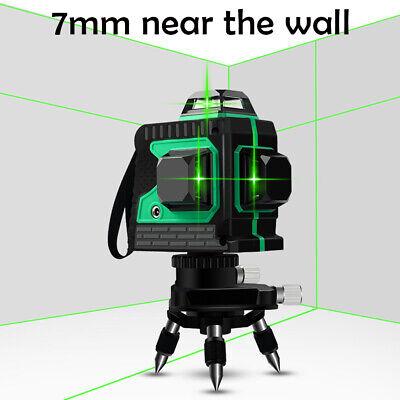 12 Lines Laser Lazer Level Cross Line Self Leveling 360 For Construction Use