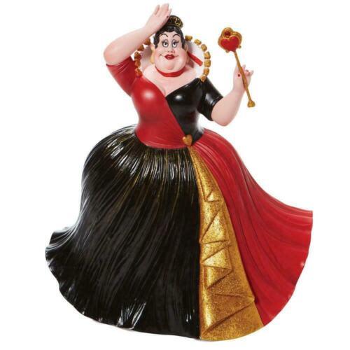 "Disney Showcase QUEEN OF HEARTS Couture de Force 9.5"" Figurine 6008695 NEW 2021"