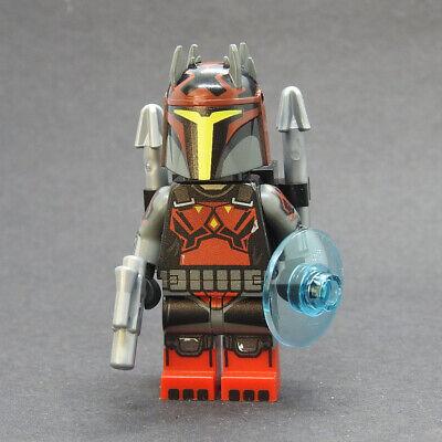 Custom Star Wars minifigures Gar Saxon S7 Mandalorian on lego brand bricks