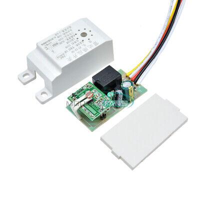 Av 220v Infrared Body Motion Radar Sensor Pir Sensing Switch Microwave Detector