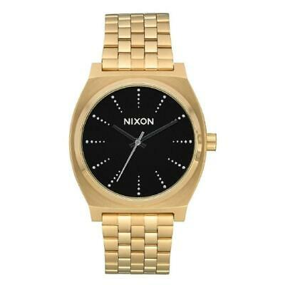 Nixon A045-2879 Time Teller 37MM Men's Gold-Tone Stainless Steel Watch