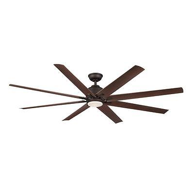 Kensgrove 72 in. LED Indoor/Outdoor Oil-Rubbed Bronze Ceiling Fan YG493OD-ORB