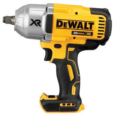 DEWALT 20V MAX XR Impact Wrench Kit, Brushless, High Torque, 1/2-Inch, (DCF899HB)