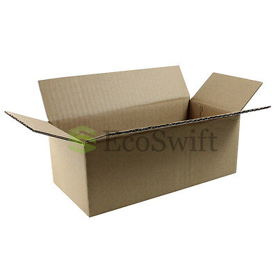 200 8x4x3 Cardboard Packing Mailing Moving Shipping Boxes Corrugated Box Cartons
