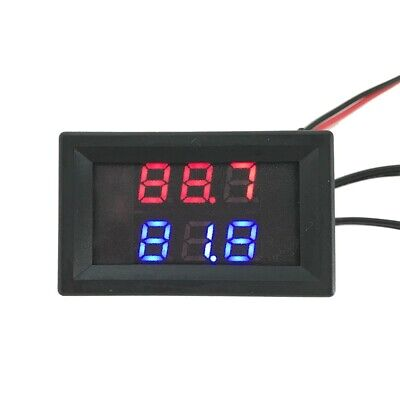 Dual Display Digital Thermometer Fahrenheit Temperature Sensor Ntc Probe