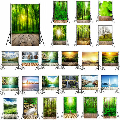 Forest Natural Wood Plank Backdrops Tree Photographic Backgrounds Photo Studio - Photographer Backdrops