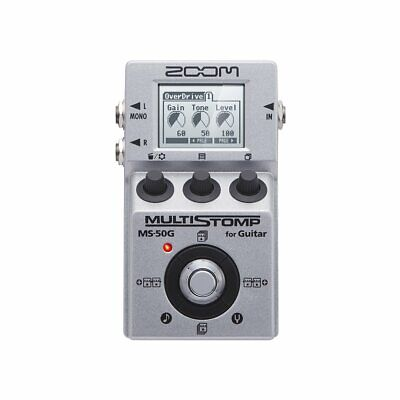 Zoom Multi STOMP Guitar Pedal MS-50G Multi-Effects New in Box