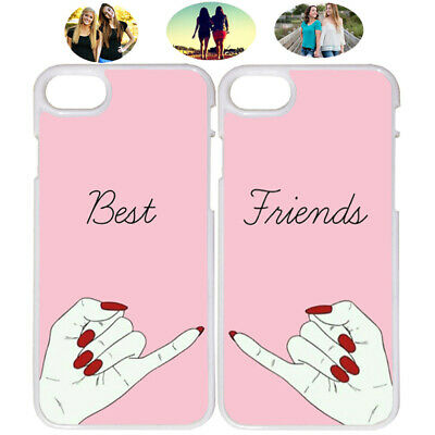 Sisters Fashion Best Friends Phone Case Cover For iPhone X XR XS 6 7 8 S8 S9 (Best S8 Phone Case)