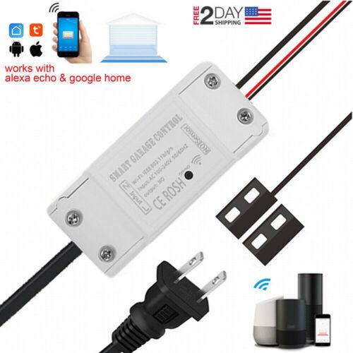 Smart WiFi Switch Garage Door Opener Controller with Alexa Google Home